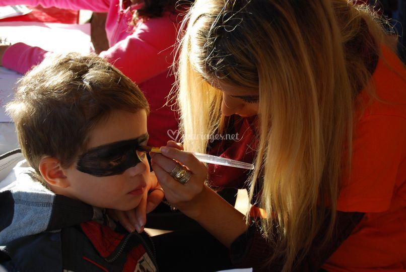 Maquillage Zorro