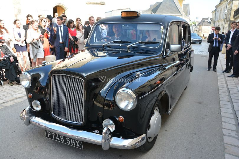 Taxi anglais Noir