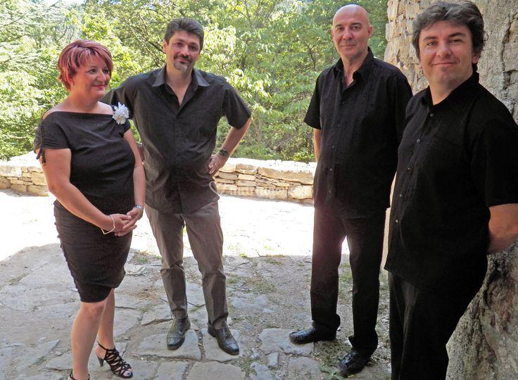 L jazz quartet