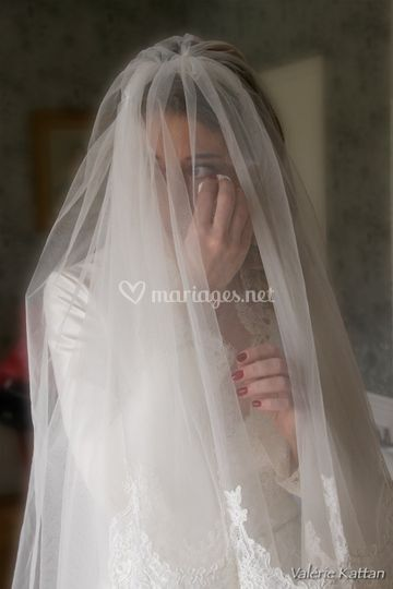 La mariée pleure