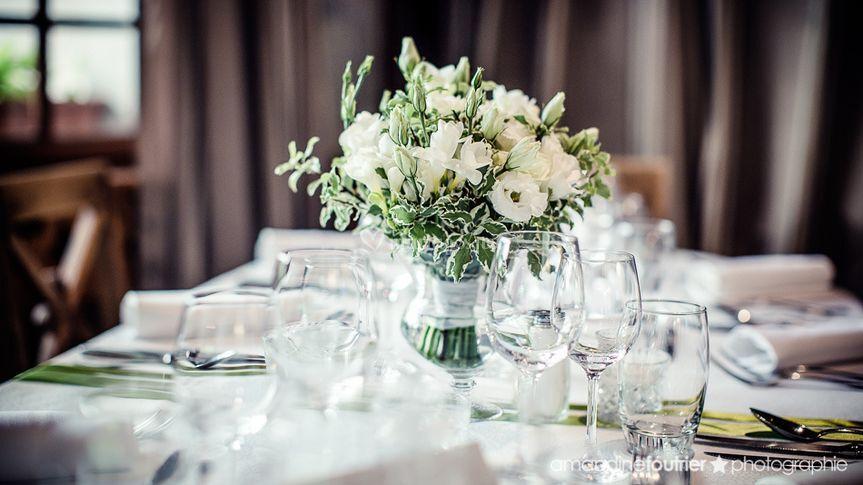 Mille et une organisations de prestige - Decoration florale mariage centre de table ...