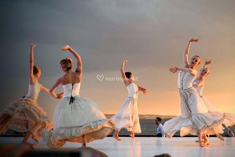 Danse demoiselles d'honneur