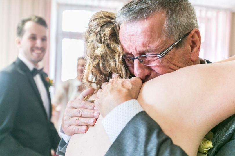 L'amour d'une père à sa fille