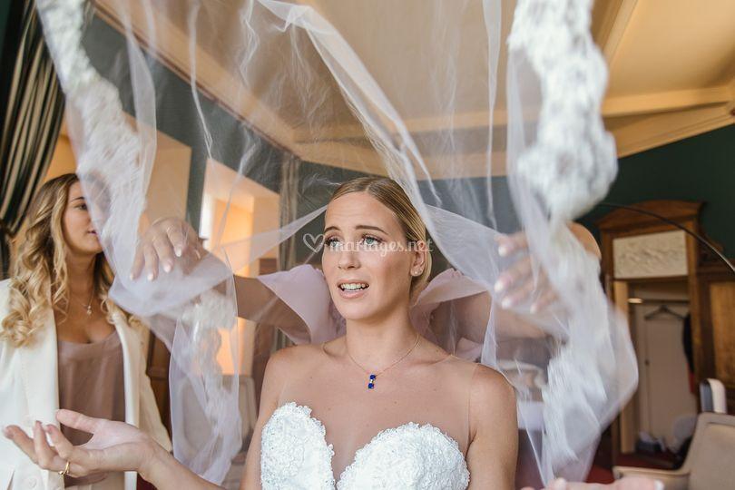 La grâce de la mariée