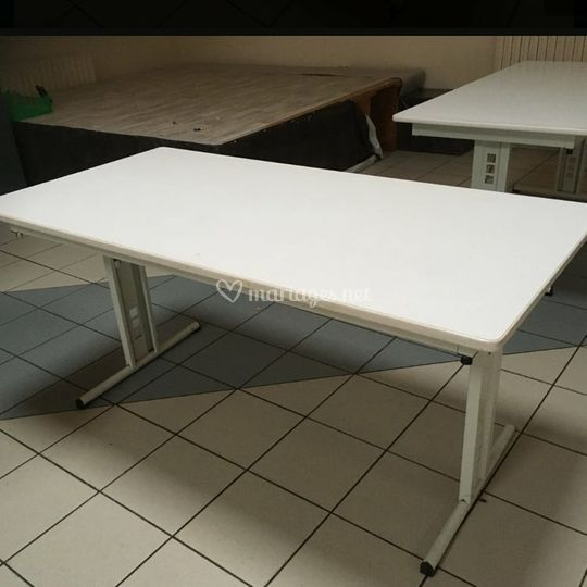 Table rectangulaires 6 personn