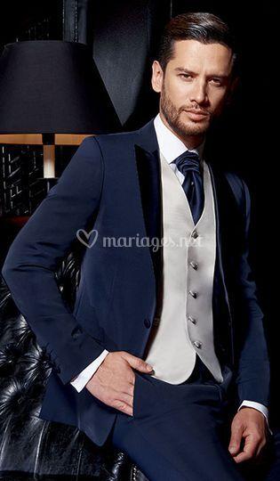 Costume Richard bleu