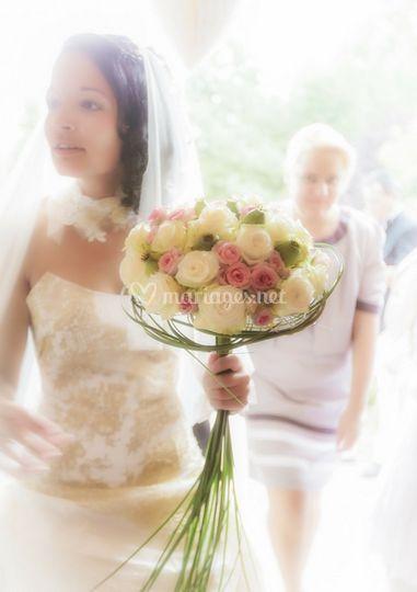 La mariée au bouquet