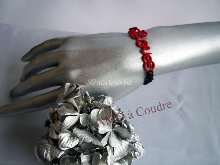 Bracelet love pour invités