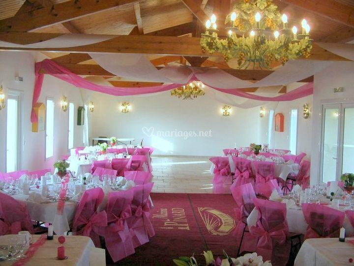 Salle rose