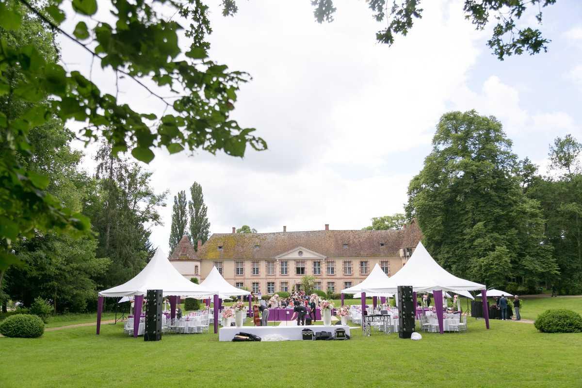 Garden party 1 de Château de la Cour Senlisse | Photo 12