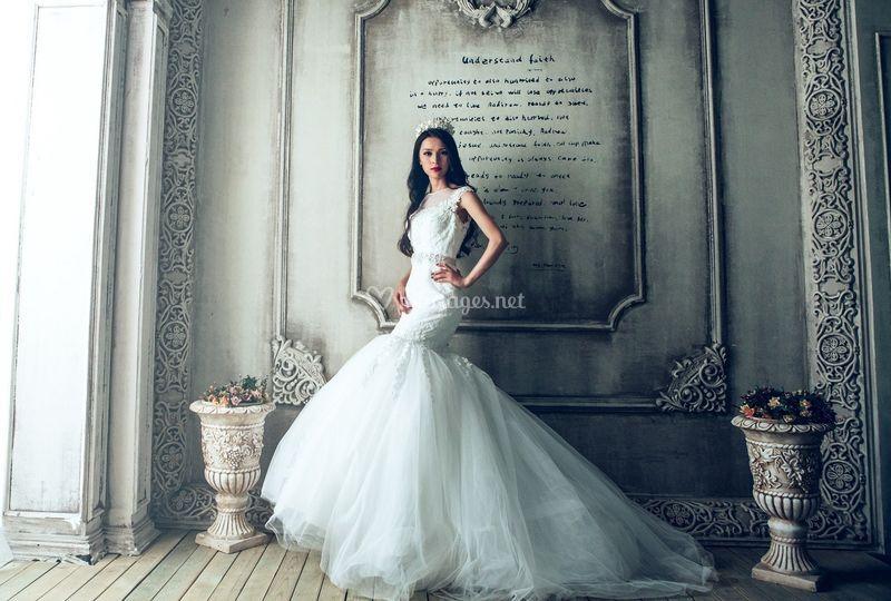 Merveilleuse robe de mariée