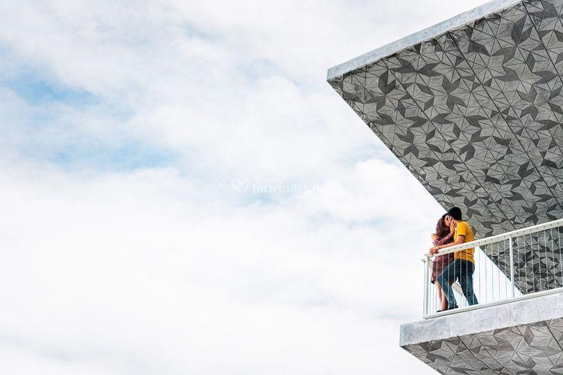 Séance couple en ville