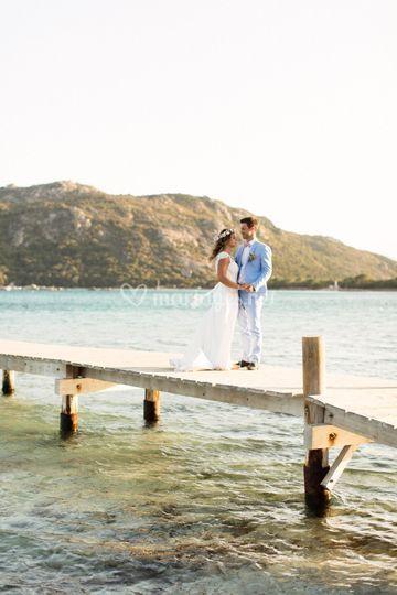 Photographie de mariage Corse