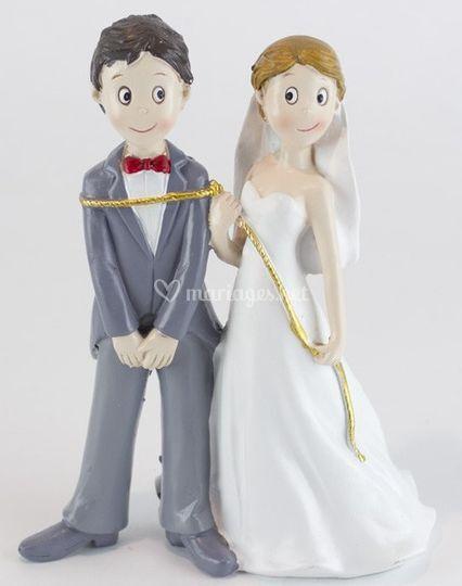 Mariage figurine