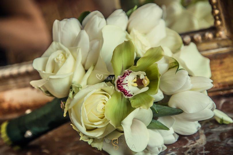 Bouquet de mariée thème nature