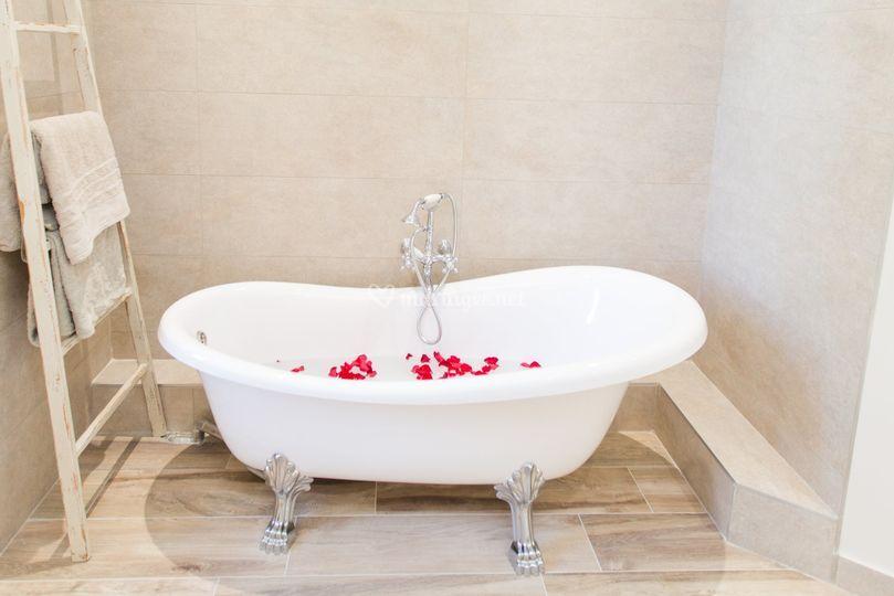 Salle de bain de la suite Pica