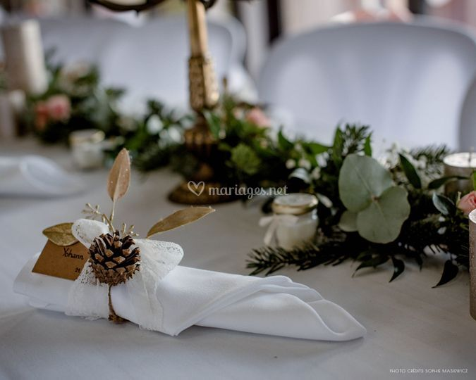 Table mariage C & J