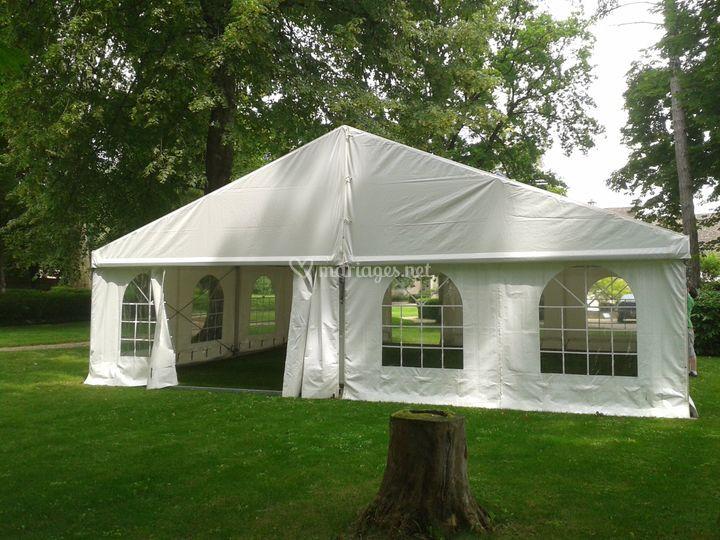 Tente 10m large
