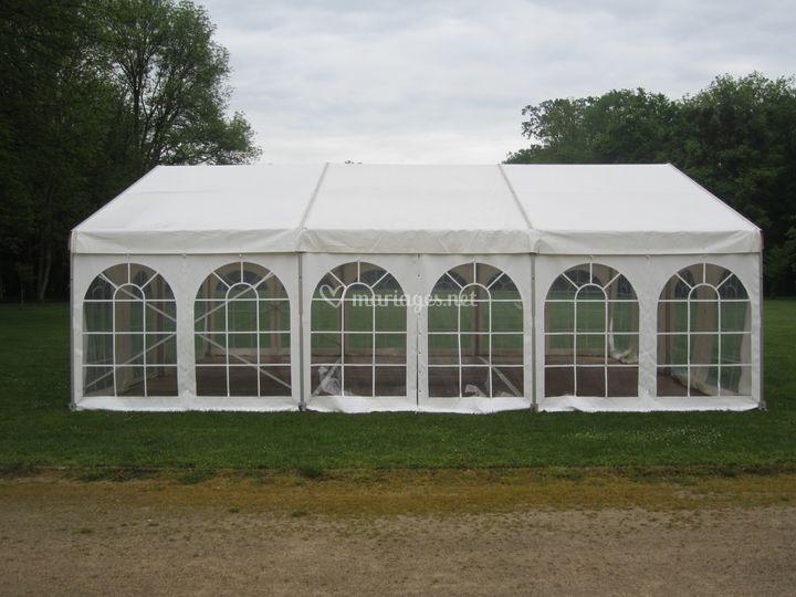 Tente 8x9m pour 60 / 70 pers