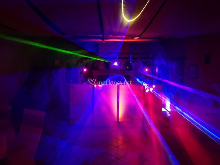 Ferme au colombier + laser