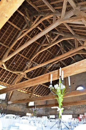 Triple charpente grange