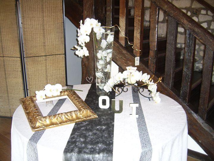 Table cadeau