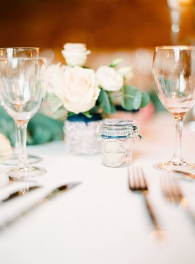 Mariage A&T - Déco de table