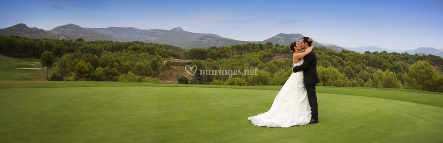 Photos de couple sur le golf