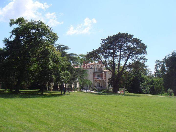 Parc - Palais Toscan