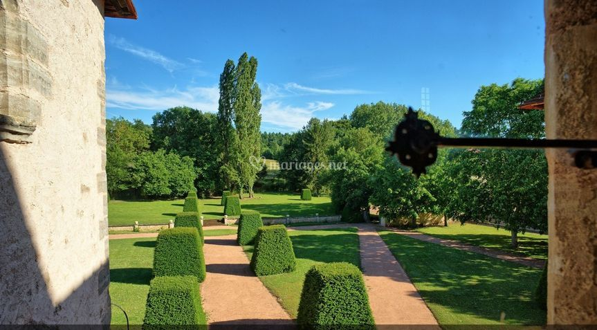Le jardin a la française