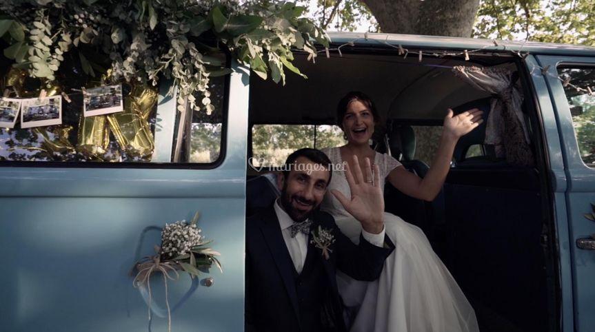 Valérie et Raffaele mariés