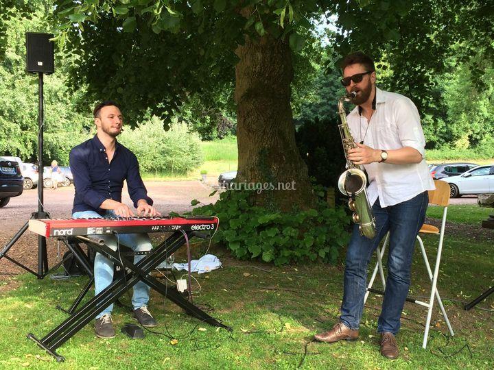 Vin d'honneur duo saxo piano