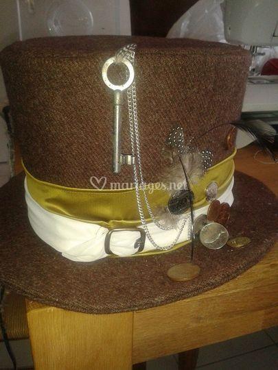 Custom chapeau marié korrigan