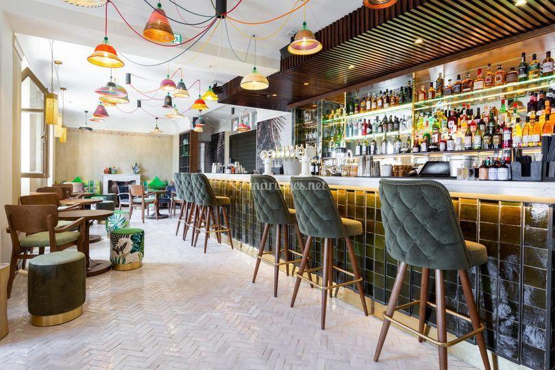 Bar intérieur - RDC