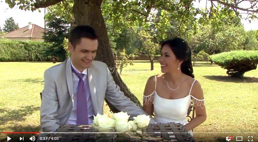 Interview des mariés