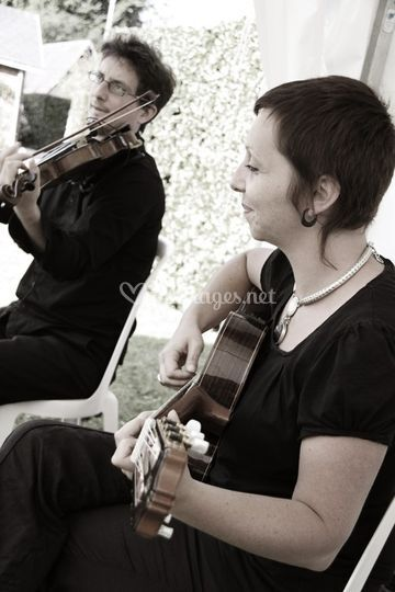 Duo jazz Franck et Juliette