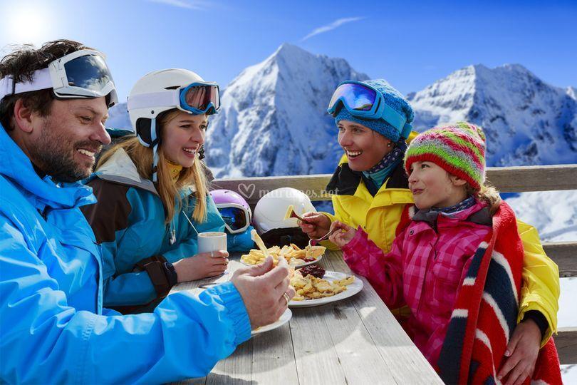 Séjour ski famille