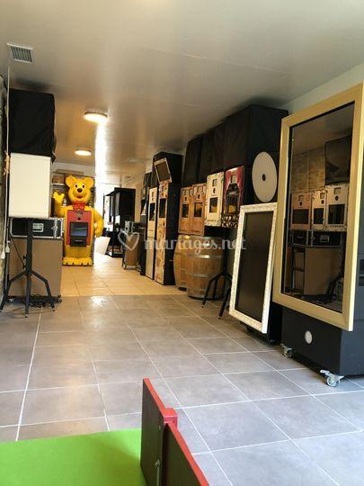 Showroom atelier