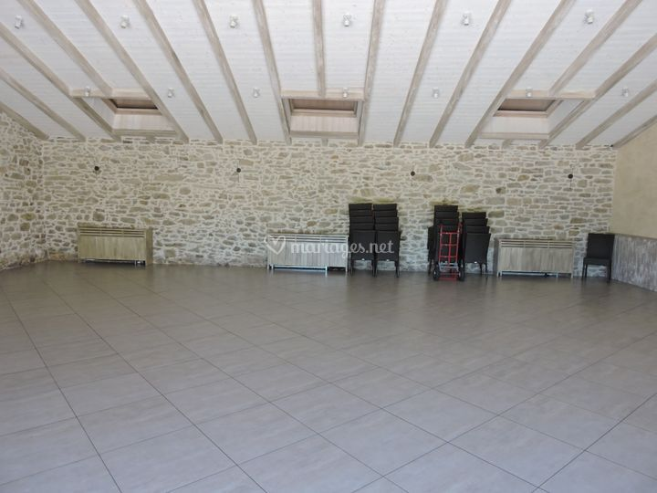 Salle La Grange vide