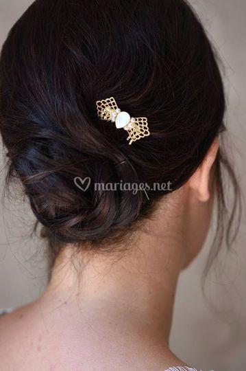 Peigne a cheveux colibri