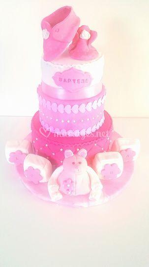 Heaven's Cake - gâteau baptême