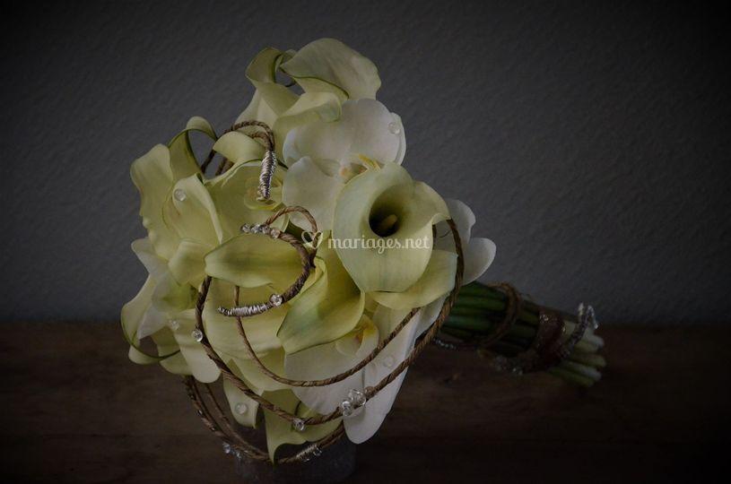 Bouquet de calla (petit arum)