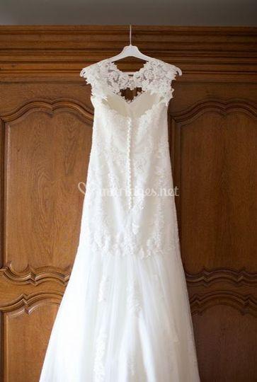 Robe : en attendant la mariée