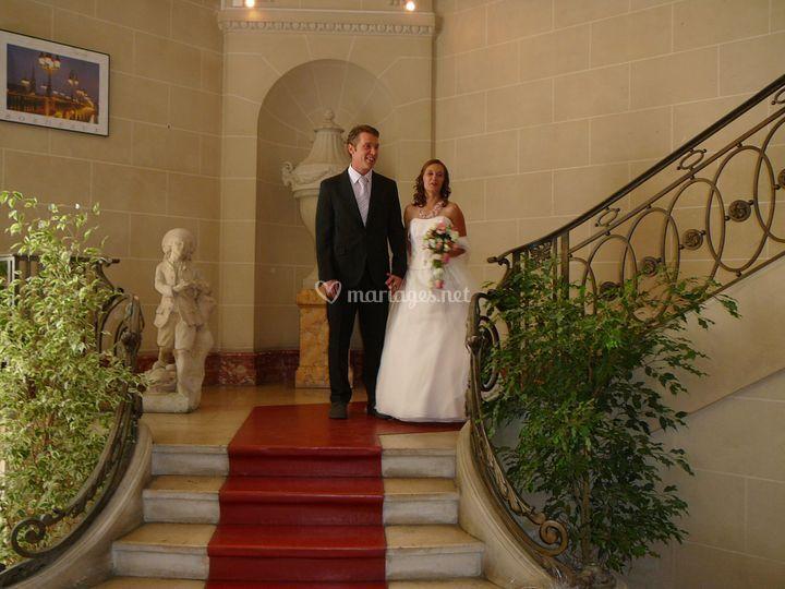 Gaëlle et Cédric