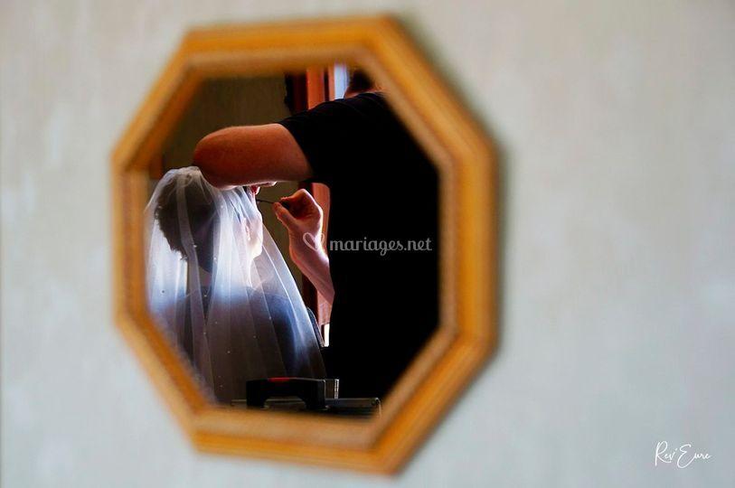 Reflet mariée
