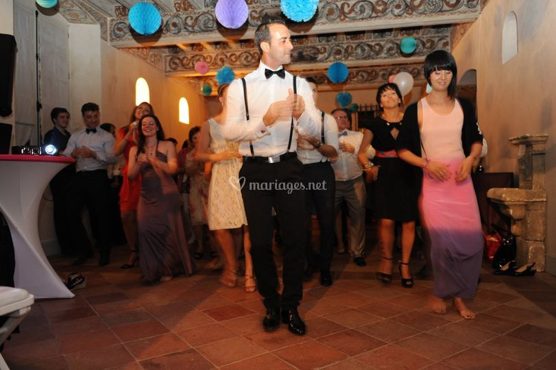 Animation danse mariage