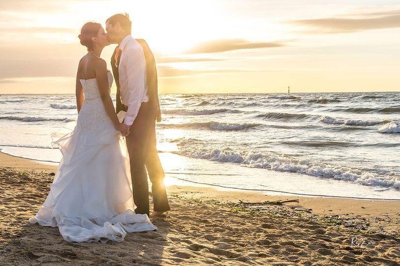 Photo couple après mariage
