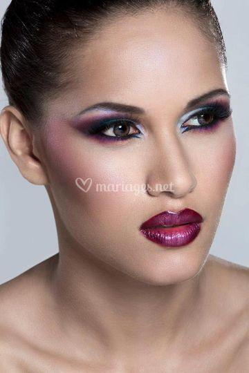 Maquillage type libanais