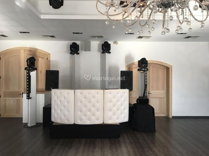Installation mariage