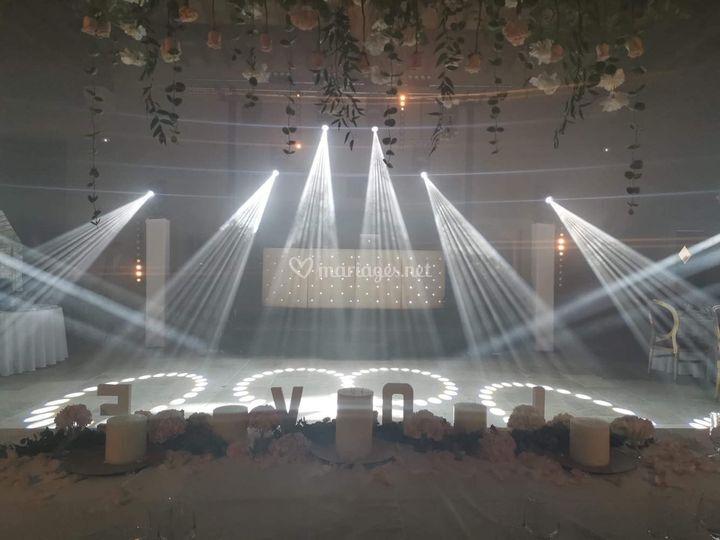 Show lumière personnalisé